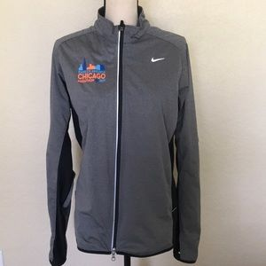 NIKE full zipper windbreaker sweater DRY FIT
